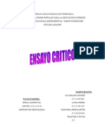 ENSAYO DE ANAHYS