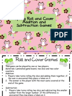 Spring Owls Roll and Cover