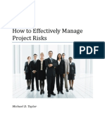 Article-How to Manage Project Risks