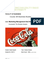 29849025 Coca Cola the Situation Analysis