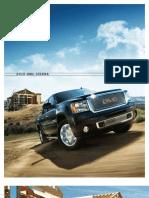 2010 Gmc Sierra Brochure