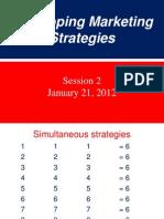 Developing Marketing Strategies 210112-2