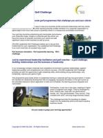 CELSIM Leadership Golf Challenge