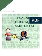 Fazendo educação ambiental
