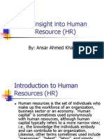 Human Resource (HR)