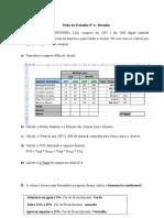 Ficha de Trabalho 4 - Folha de Cálculo