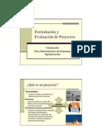 Formulaci%F3n y Evaluaci%F3n de Proyectos