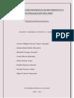 Trabajo de Descentralizacion de Gobiernos Region Ales