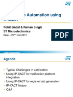 Verification Automation Using IPXACT - Jindal and Singla