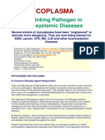 060 Mycoplasma Linking Pathogen