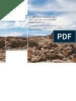 Est and Ares Minimos Del Registro Arqueologico