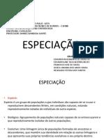 Especiação