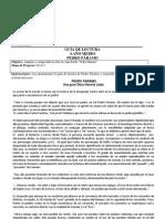 Guía de lectura Pedro Páramo