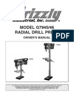 G7946DrillPressManual