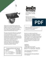 02101 2 Mast R Lift Manual