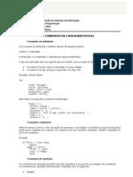 Principais Comandos Em Pascal