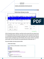Audio Signal Recording in Matlab GUI