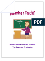 Code Of Ethics For Professional Teachers R A 7836
