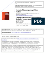Chinese Eyes on Africa
