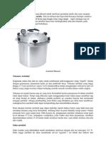 Autoklaf Merupakan Alat Yang Dikenal Untuk Sterilisasi Peralatan Medis Dan Sains Maupun Bahan