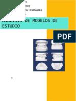ANALISIS DE MODELOS DE ESTUDIO