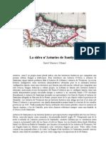 La sidra n'Asturies de Santiyana