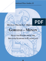 ERLER&BRISSON Gorgias Menon Seventh Symposium Platonic Um