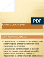 CARTAS DE CALIDAD