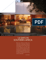 14 Days Southern Africa Itinerary - Elite Traveler