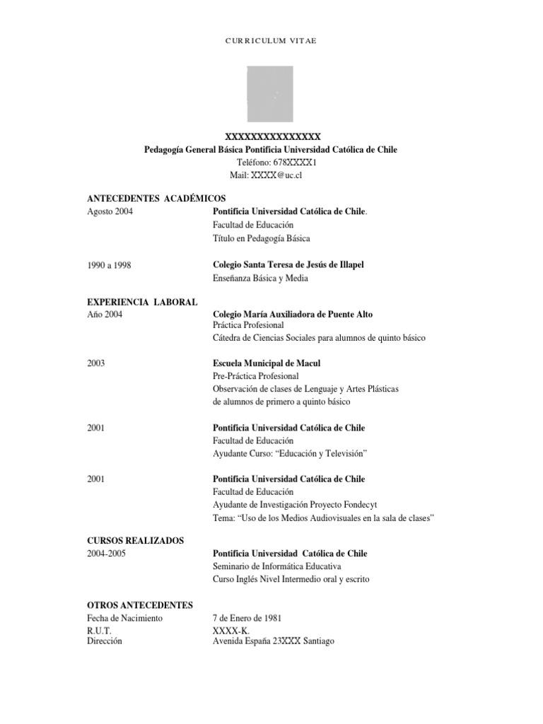 Fantástico Ejemplos De Currículum De Marketing Para Estudiantes ...