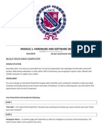 module 1 hardware assessment task 2012