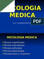 MICOLOGIA -micosis superficiales