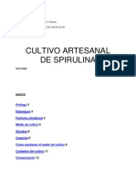 Cultivo Artesanal de Espirulina