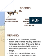 Bofors Scam Ppt