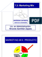 Tema 7.3 Marketing Mix