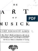 Lampe Art of Musick 1740