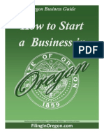 2011_Starting a Business in Oregon Guide