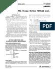 Pll Design Method