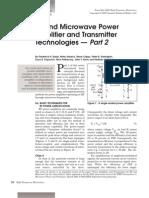 RF Power Amplifier and Transmitter Technologies Part2