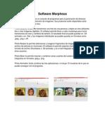 Software Morpheus y Photo Montage