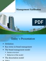 Brand Management Facilitation