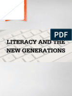 Literacy and the New Generations