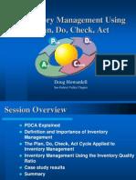 Apics-pdm Using Pdca