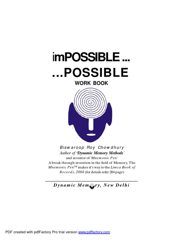 Impossible..Possible | Self-Improvement | Emotions