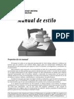 Manual de Estilo de la Universidad Andina Simón Bolívar
