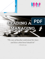 Leading and Managing