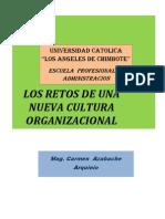 Los Retos de Una Nueva Cultura Organizacional