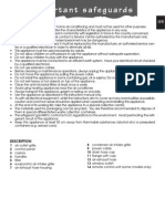 DeLonghi NF170 Manual