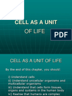CELL AS A UNIT