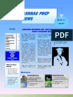 ASHRAE PUCP News Nº 01